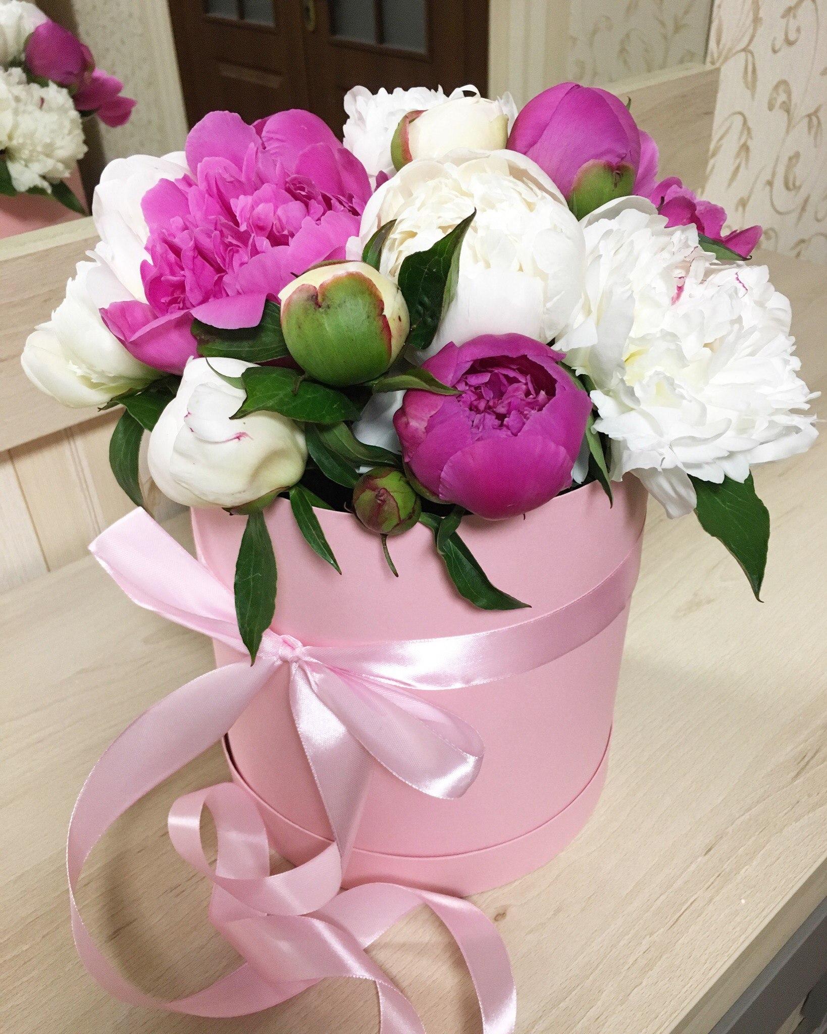 Красивые цветы фото букеты пионы